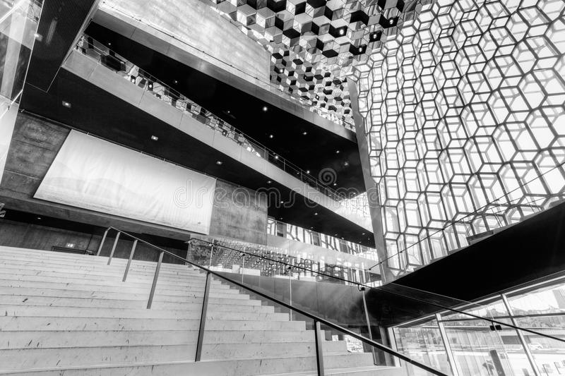Harpa Concert Hall Editorial Photography