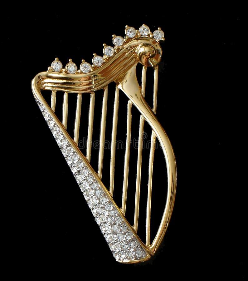 Harpe photo libre de droits