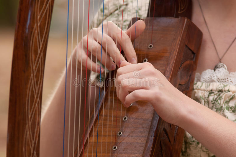 Harpe photo stock