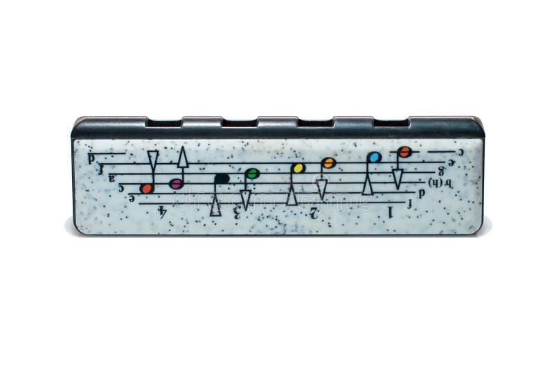 Harpe d'enfant (harmonica) photographie stock