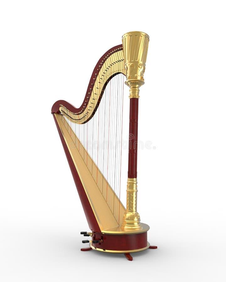 Harpe d 39 instrument de musique photo libre de droits image 29803445 - Photo d instrument de musique ...