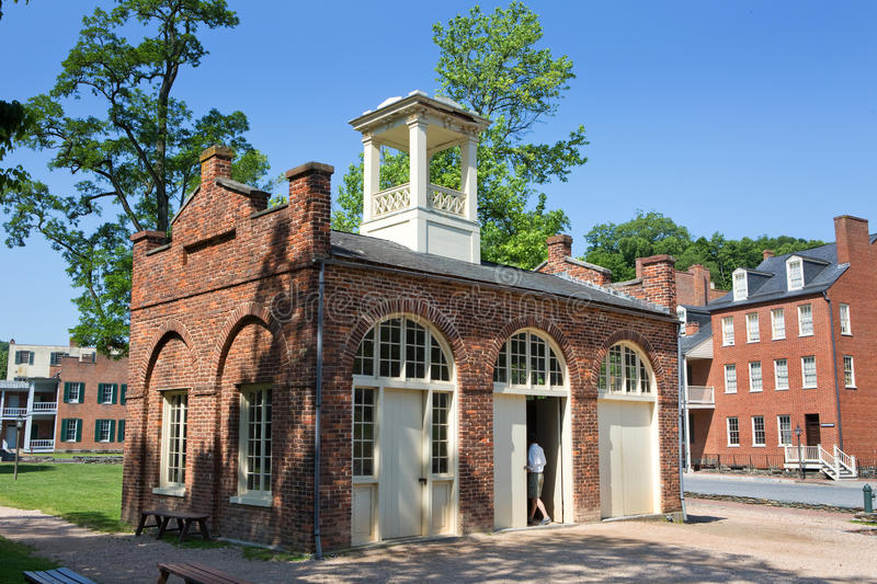 Harpers Ferry National Park John Browns Fort stock photo