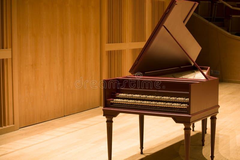 harpsichord royaltyfri bild