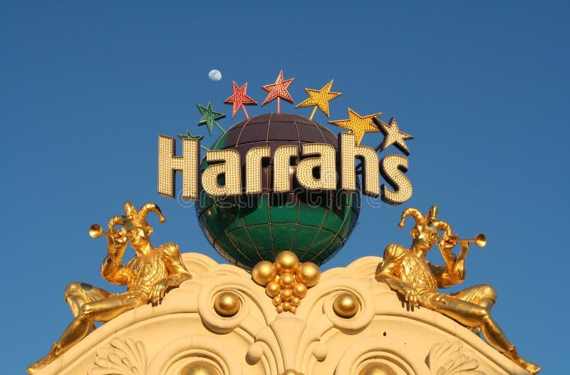 Harrahs - Las Vegas imagens de stock