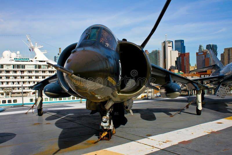 Harrier do espaço aéreo britânico AV-8C fotos de stock royalty free