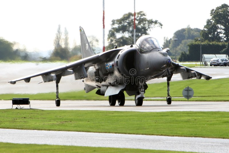 Harrier Jump Jet royalty free stock photos
