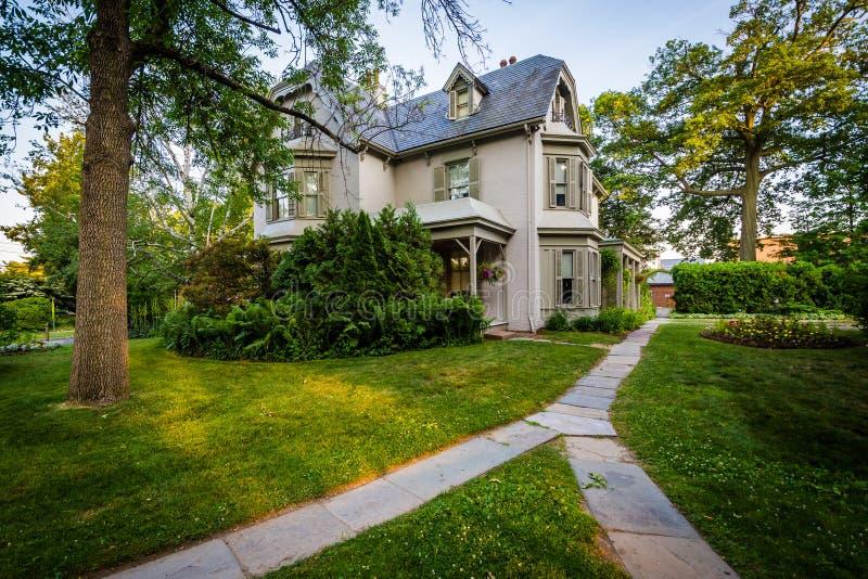 Harriet Beecher Stowe House, à Hartford, le Connecticut images stock