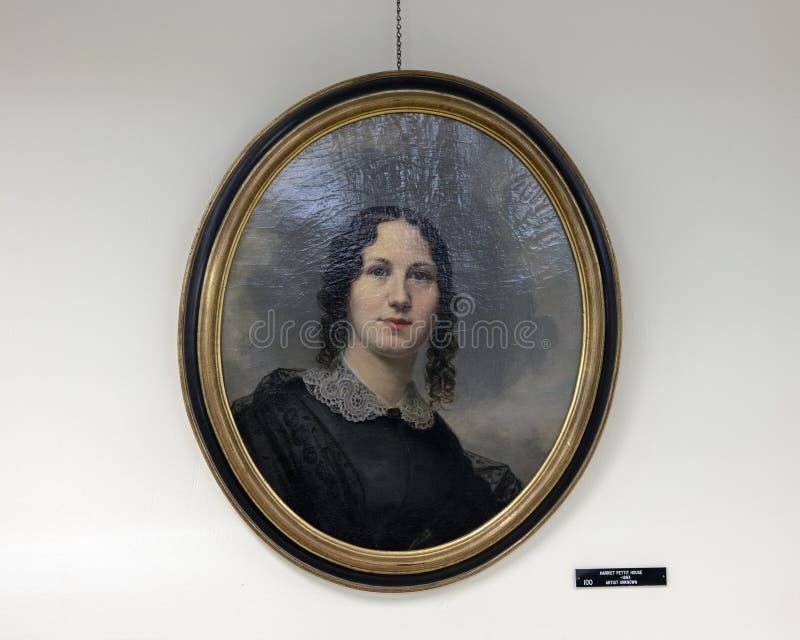 Harriet Pettite House, inconnu d'artiste, société historique presbytérienne, Philadelphie photos libres de droits