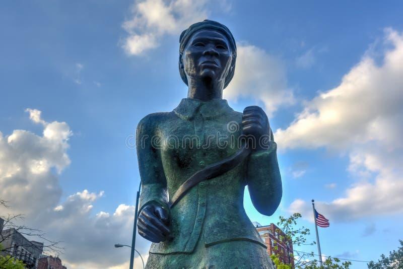 Harriet Tubman Memorial Statue - Harlem, New York image stock