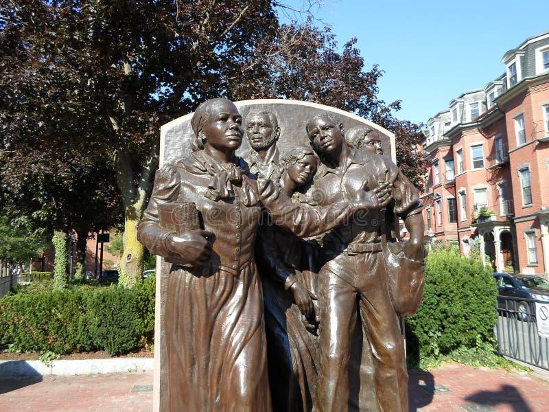 Harriet Tubman Square, Boston, le Massachusetts, Etats-Unis photographie stock libre de droits