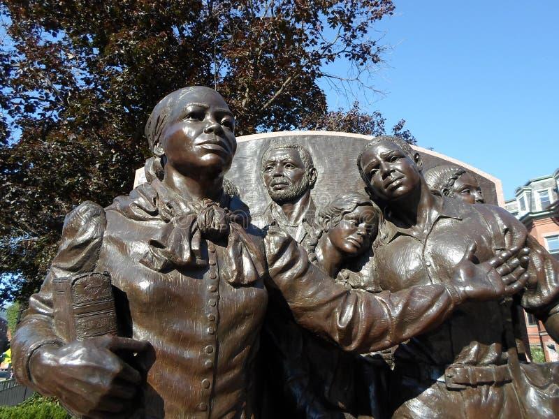 Harriet Tubman Square Boston, Massachusetts, USA arkivbild