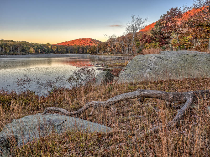 Harriman delstatspark, New York stat fotografering för bildbyråer
