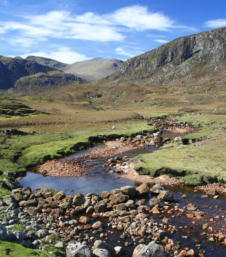 Harris Landscape royalty free stock photo