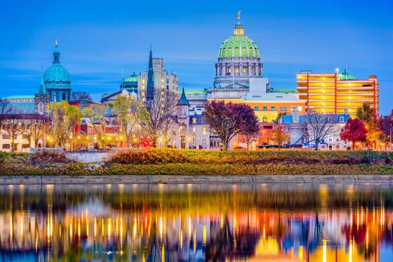 Harrisburg, Pensilvânia, EUA imagens de stock royalty free