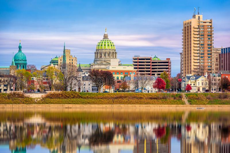 Harrisburg, Pensilv?nia, EUA foto de stock