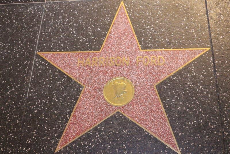 Harrison Ford Hollywood Star illustrazione di stock