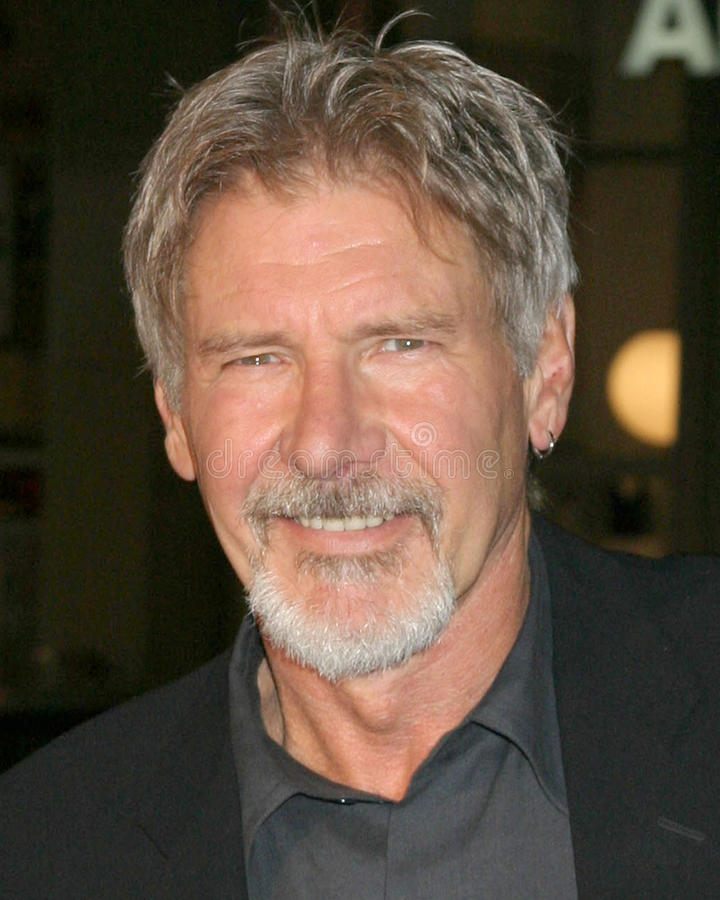 Harrison Ford obraz stock