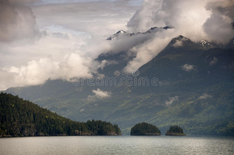 Harrison Lake stockbilder
