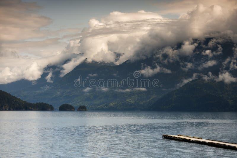 Harrison Lake stockbilder