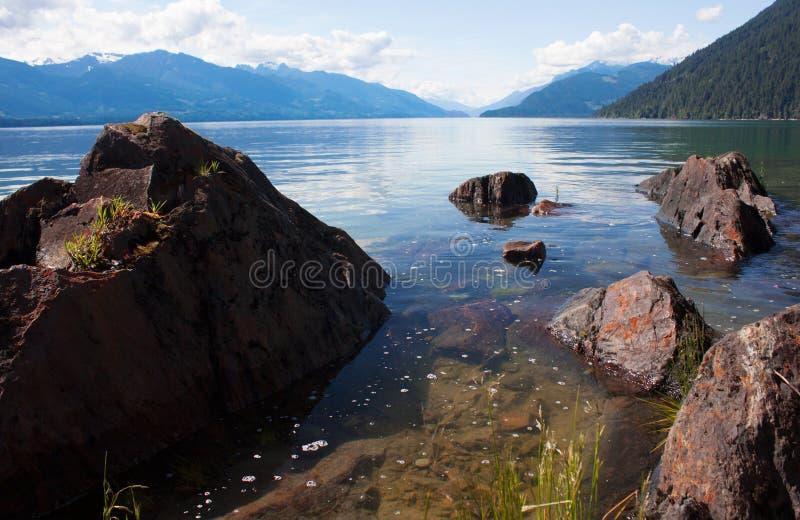Harrison Lake stock foto