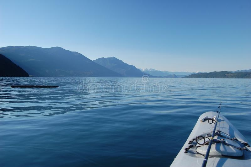 Harrison Lake royalty free stock image