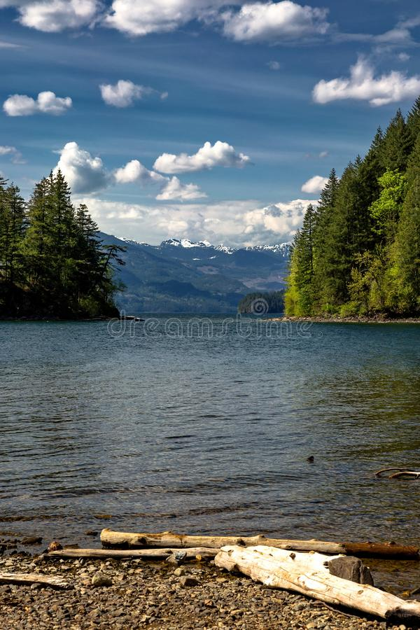 Harrison Lake stockfotos
