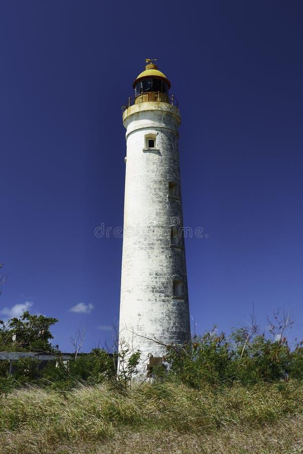 Harrison-Punkt - einer der vier Leuchttürme in Barbados stockbilder