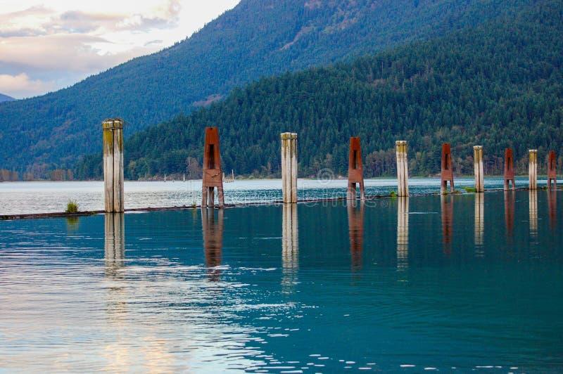 Harrison River fotografering för bildbyråer