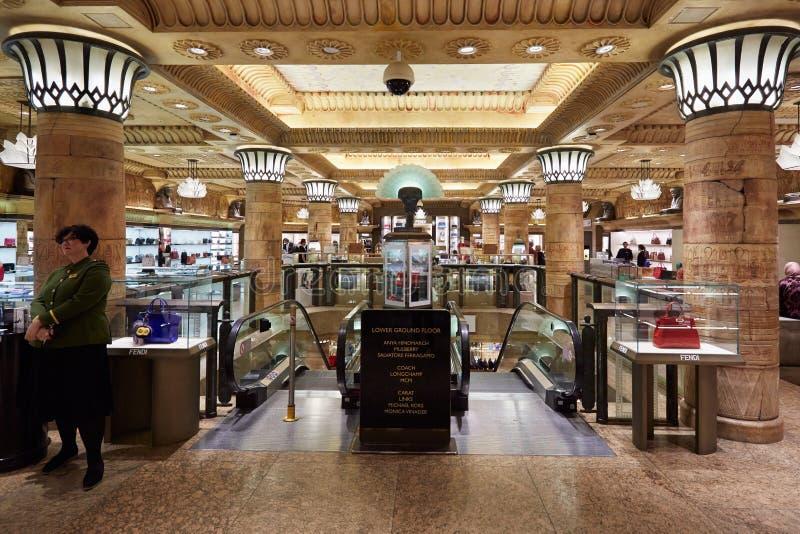 Harrods Department Store Interior In London Editorial Stock Image ...