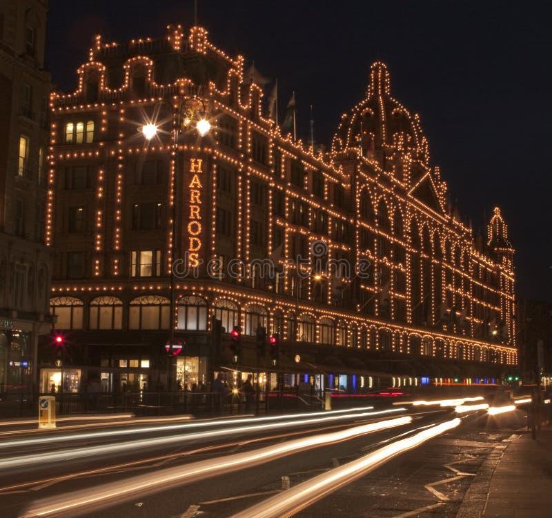 Harrods, Londyn zdjęcia royalty free