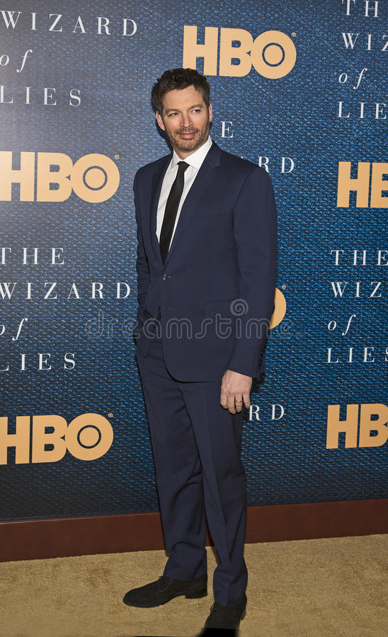 Harry Connick Jr. Singer/musician/entertainer Harry Connick Jr. arrives for the New York City premiere of `The Wizard of Lies,` at the Museum of Modern royalty free stock photos