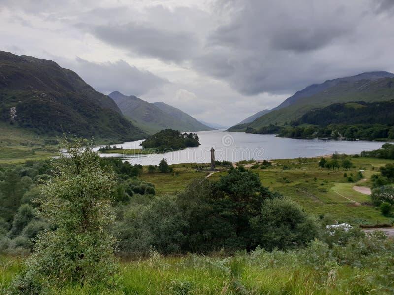 Harry garncarki jezioro glennfinnian zdjęcie stock