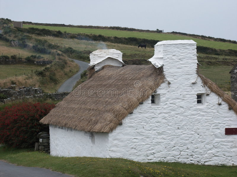 Harry Kelly's Cottage stock photography