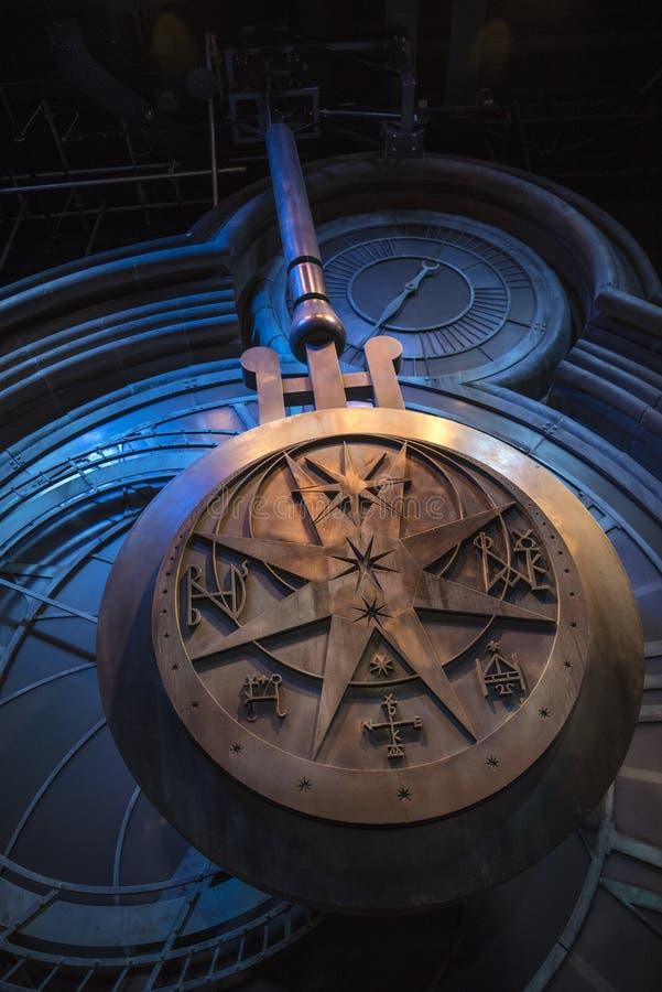 Harry Potter Clock Tower Pendulum photos libres de droits