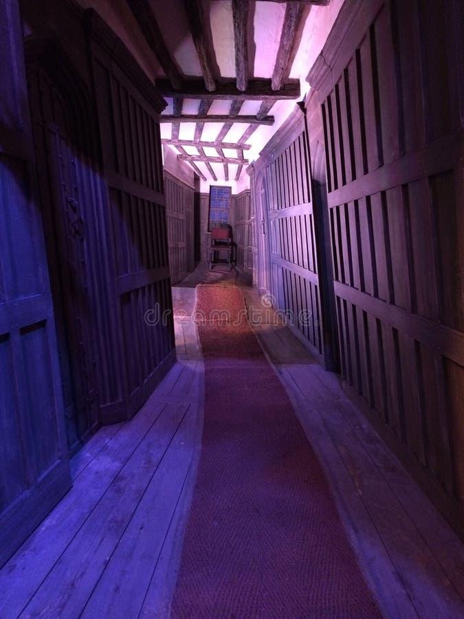 Harry Potter Corridor royalty-vrije stock afbeeldingen