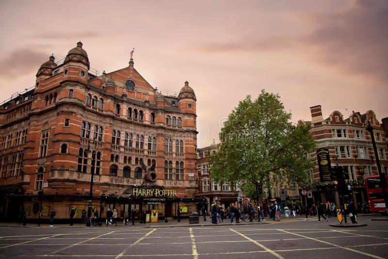 Harry Potter-Gebäude in London lizenzfreie stockfotos