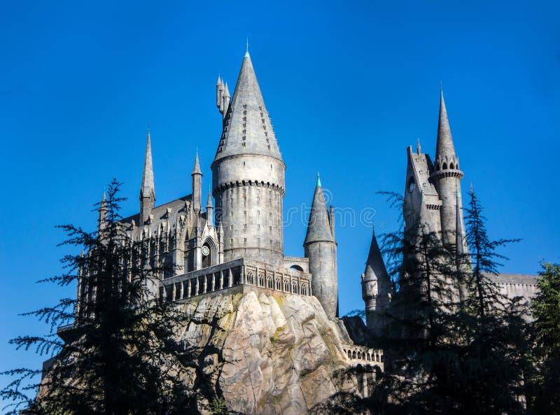 Harry Potter Hogsworth Castle royalty-vrije stock fotografie