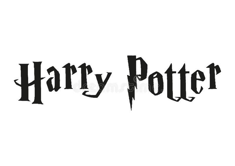 Harry Potter Logo stock de ilustración