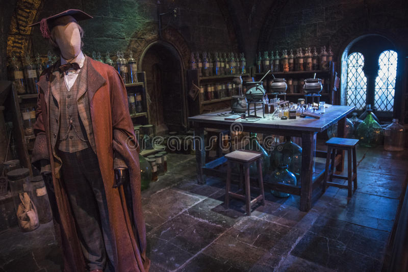 Harry Potter Potions Classroom images stock