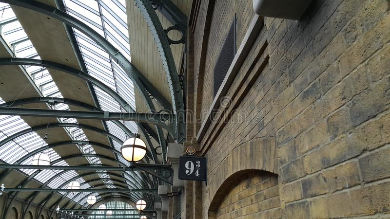 Harry Potter Train Station image stock