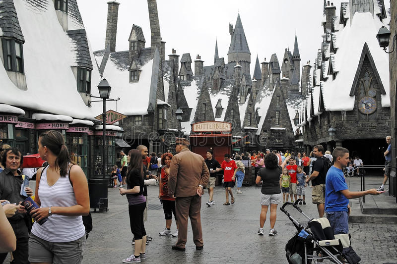 Harry Potter in the universal studios royalty free stock images