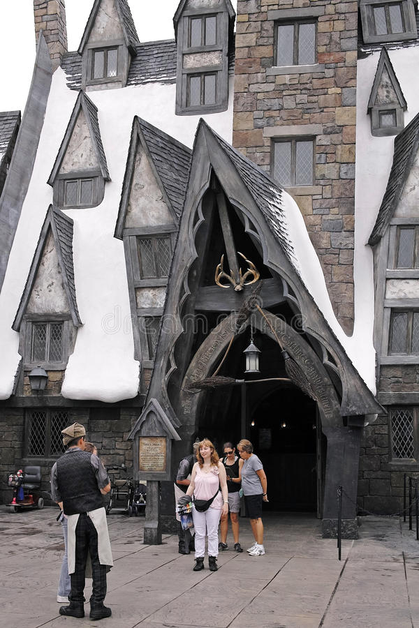 Download Harry Potter In The Universal Studios Editorial Stock Image - Image: 28594749