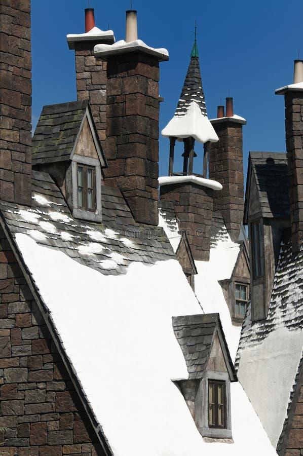 Harry Potter wizarding värld arkivbild