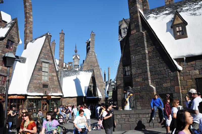 Harry Potter wizarding värld royaltyfria foton