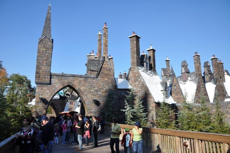 Harry Potter wizarding värld royaltyfri foto