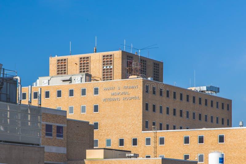 Harry- S Truman Memorial Veterans Hospital stockbilder