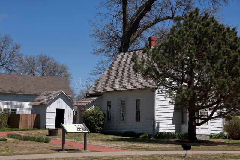 Harry S Truman miejsce narodzin, LeMar, MO zdjęcia stock