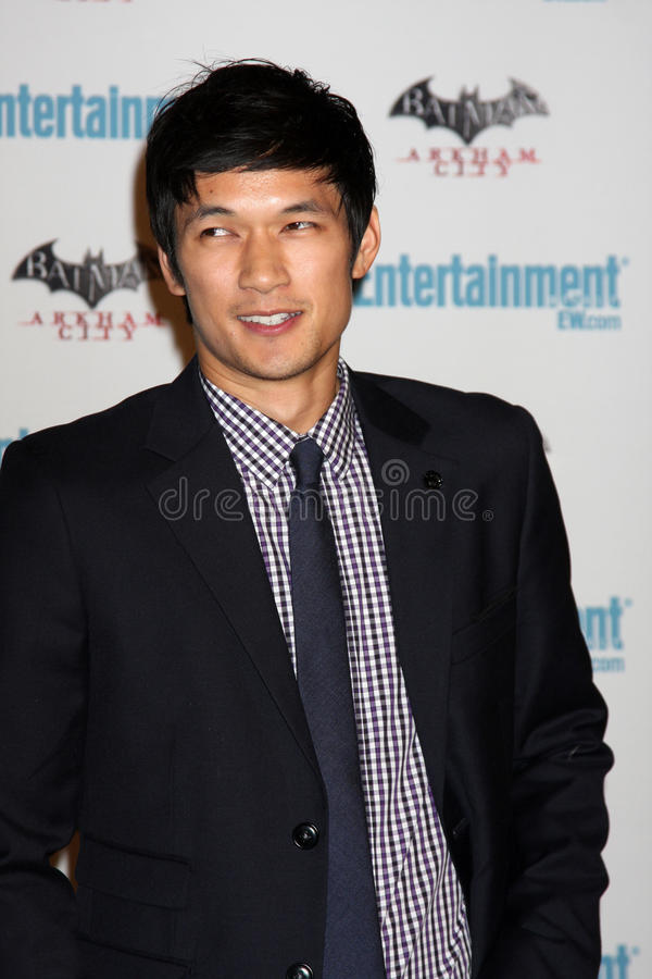 Download Harry Shum, editorial image. Image of comic, arriving - 23573885