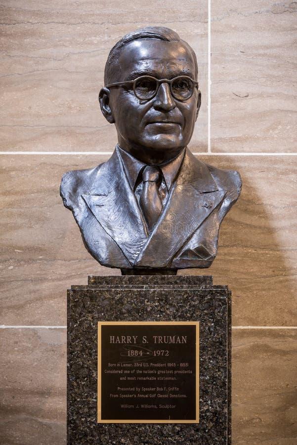 Harry Truman fotografía de archivo