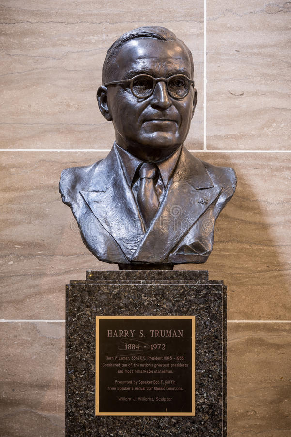 Harry Truman stock photography